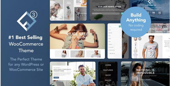 Flatsome là nền tảng giao diện giúp bạn thiết kế web dễ dàng.