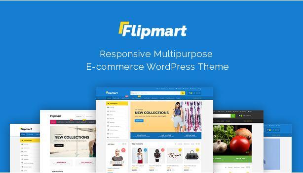 Flipmart - Theme sang trọng và trang nhã cho website bán hàng.