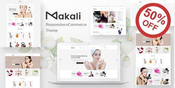 Makali là theme WordPress lý tưởng cho những ai muốn kinh doanh mặt hàng mỹ phẩm.