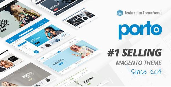 Porto cũng là một lựa chọn tốt nếu bạn muốn thiết kế website bán hàng.