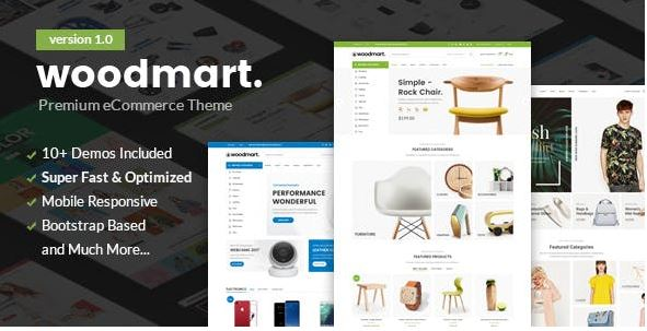 Woodmart cũng là một theme WordPress thương mại điện tử mà bạn nên dùng thử.
