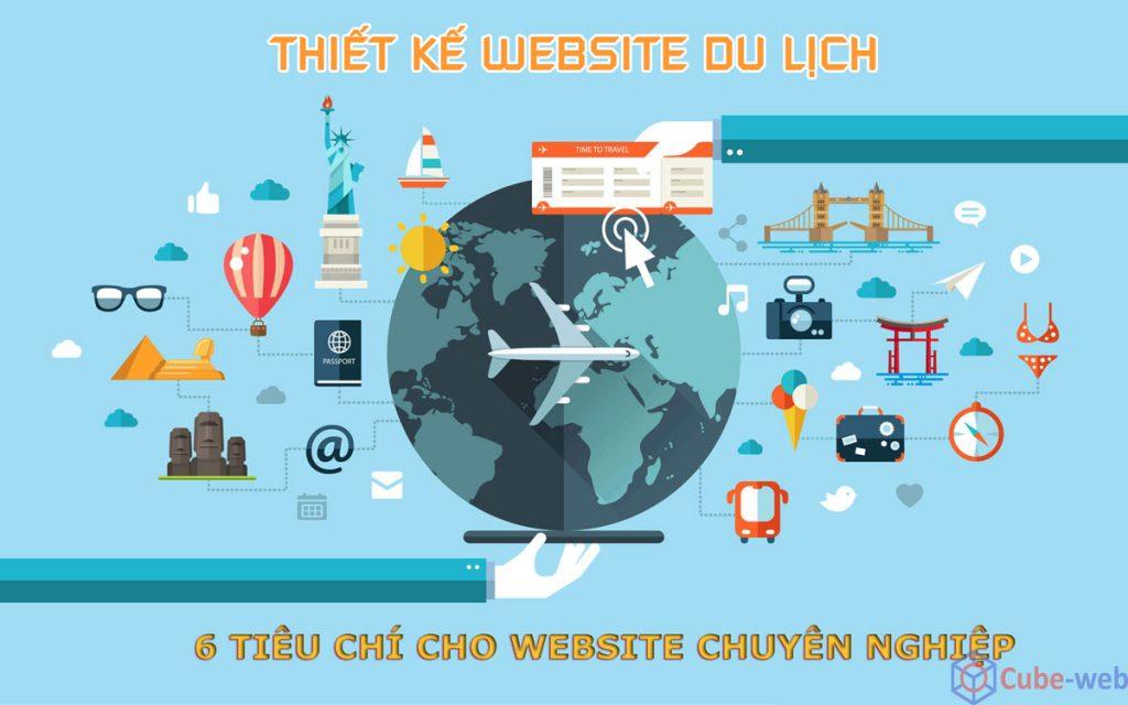 6 tiêu chí thiết kế website du lịch