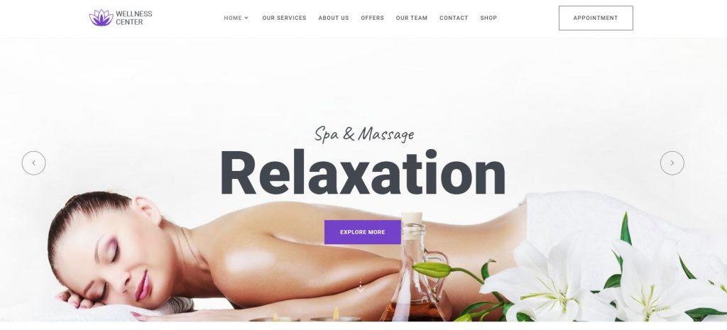 theme wellness center spa
