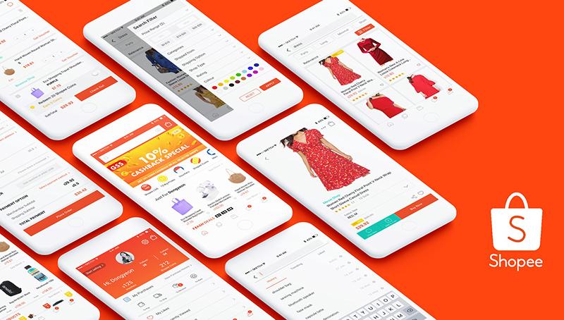 ứng dụng mua sắm trên điện thoại