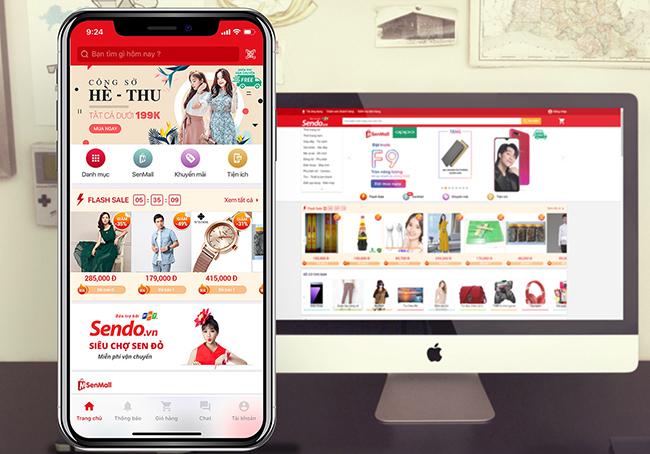các app bán hàng online